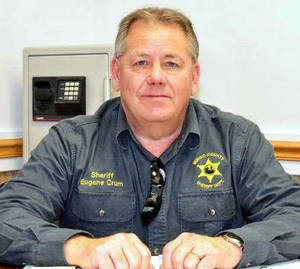 Photo - This undated photo shows Mingo County Sheriff Eugene Crum. Crum was gunned down Wednesday, April 3, 2013 in the spot where he usually parked and ate lunch in Williamson, W.Va. (AP Photo/Williamson Daily News)