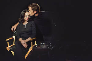 "Photo -   This publicity image released by Lifetime shows Grant Bowler as Richard Burton, right, and Lindsay Lohan as Elizabeth Taylor in the Lifetime Original Movie, ""Liz & Dick,"" premiering Sunday, Nov. 25, at 9 p.m. EST. (AP Photo/Lifetime, Jack Zeman)"