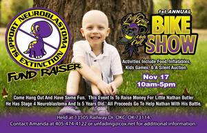 photo - A fundraiser is planned for Saturday to help the family of Nathan Butler, who has a rare form of cancer. PHOTO PROVIDED