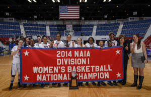 Photo -  The NAIA champion Oklahoma City University women's team. PHOTO PROVIDED      <strong>Marvin Young Photographer</strong>