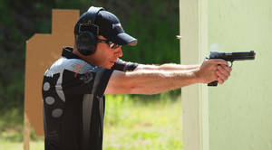Photo - Chris Anderson competes on the 3-Gun Nation Pro Series and is a certified grand master pistol shooter.  PHOTO PROVIDED
