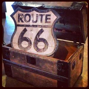 Photo - Logo for the Treasure Chest on Route 66. <strong> - PROVIDED</strong>