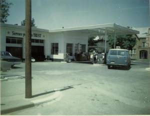 Photo - The former Elmer's Texaco at 2425 N Walker Ave. was a longtime community gathering spot until it was sold by Elmer Gentry in the late 1970s. <strong>Provided by Paula Black</strong>