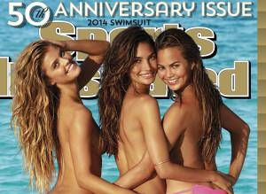 Photo - Swimsuit: 2014 Issue: Cook Islands Group - Lily Aldridge, Nina Agdal, Chrissy Teigen Beach/Rarotonga, Cook Islands, New Zealand 10/29/2013  CREDIT: James Macari for Sports Illustrated