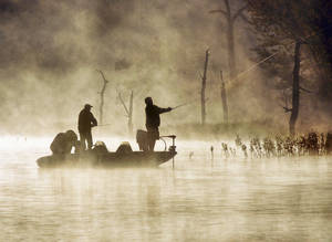 "Photo - ""Gone fishin,"" a photo by Richard Waters of Broken Arrow, has been chosen as a winner in ""Project Imaginat10n,"" the latest creative endeavour between Ron Howard and Canon U.S.A. Photo provided. <strong></strong>"
