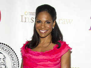 "Photo - FILE - This May 16, 2012 file photo shows Audra McDonald at the Friars Club Roast of Betty White in New York. McDonald's new CD,"" Go Back Home"" includes classics like Stephen Sondheim's ""The Glamorous Life,"" the Richard Rodgers-Oscar Hammerstein II's ""Edelweiss,"" and ""First You Dream,"" from the John Kander and Fred Ebb show ""Steel Pier.""  (AP Photo/Charles Sykes, file)"