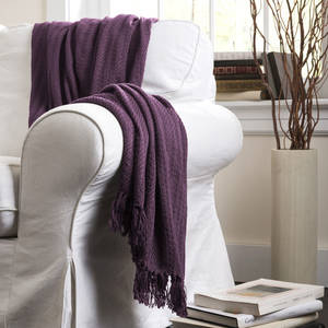 Photo - Color Update: Any room can feel more up-to-date by just adding a simple accessory in the latest trend color. Like this Pamela throw from Lush Décor. <strong> - PROVIDED</strong>