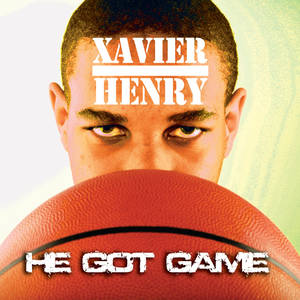 "Photo - Putnam City standout Xavier Henry spoofs the ""He Got Game"" soundtrack cover. Photo by Nate Billings/Illustration by Phillip Baeza, The Oklahoman"