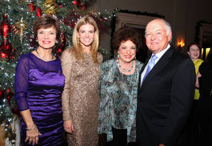 photo - Janie Axton, Christy Counts, Sue Ann Hyde, Ron Norick. Photo by David Faytinger for the Oklahoman__