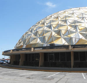 photo - The Gold Dome building is seen at NW 23 and Classen.  Oklahoman Archives Photo