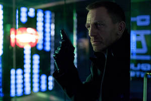 "Photo -   FILE - This publicity film image released by Columbia Pictures shows Daniel Craig as James Bond in the action adventure film, ""Skyfall."" (AP Photo/Sony Pictures, Francois Duhamel, File)"