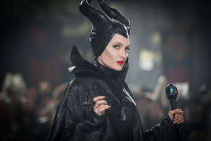 "Photo - This photo released by Disney shows Angelina Jolie in a scene from the film, ""Maleficent."" (AP Photo/Disney, Frank Connor)"