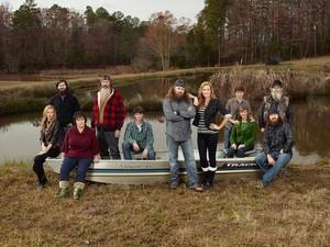 Photo - The Robertson family from A&E's Duck Dynasty   