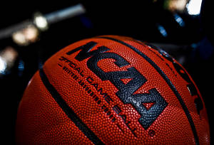 photo - NCAA basketballs during practice and press conference day of the NCAA Men's first and second round basketball tournament at the Ford Center on Wednesday, March 17, 2010, in Oklahoma City, Okla.  Photo by Chris Landsberger, The Oklahoman