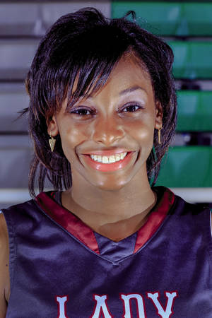 Photo - LaNesia Williams, Northeast Academy Oklahoman all city basketball player on Wednesday, April 2, 2014, in Oklahoma City, Okla.   Photo by Chris Landsberger, The Oklahoman