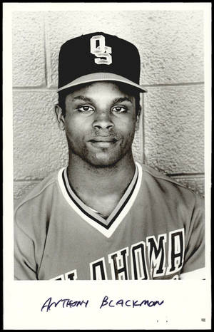 Photo - Anthony Blackmon, former OSU Baseball Player <strong>UNKNOWN - UNKNOWN</strong>