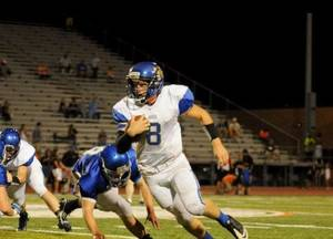 Photo - Noble quarterback Dakota Boxwell. PHOTO PROVIDED