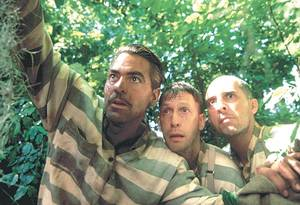 "Photo - Tim Blake Nelson, center, in a scene with George Clooney, left, and John Turturro, right, from the 2000 Coen Brothers comedy O Brother, Where Art Thou?"" PHOTO PROVIDED <strong>PROVIDED</strong>"