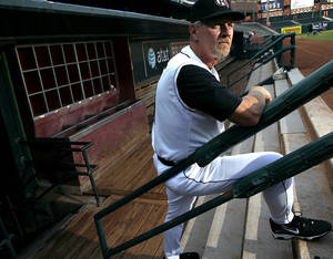 Photo - Bobby Jones will be the RedHawks manager. PHOTO BY JOHN CLANTON, THE OKLAHOMAN