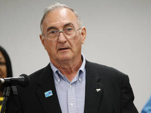 Photo - Wallace Collins Oklahoma Democratic Party chairman