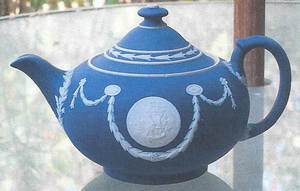 "Photo -  This ""Wedgewood Blue"" teapot is worth between $150 and $200. PHOTO PROVIDED  <strong></strong>"
