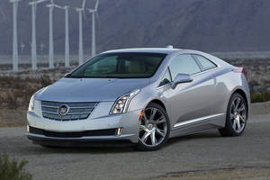 Photo - This undated photo made available by Cadillac shows the 2014 Cadillac ELR. (AP Photo/Cadillac, Richard Prince)
