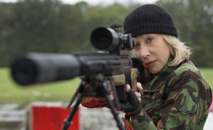 "Photo - Helen Mirren reprises her role as Victoria, the over-the-hill, black-ops assassin, in ""Red 2."" PHOTO PROVIDED <strong></strong>"