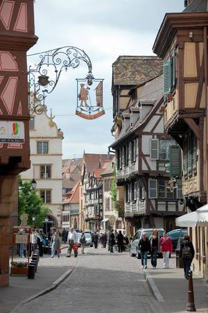 Photo - French or German? Alsace is both. (Photo by Cameron Hewitt)