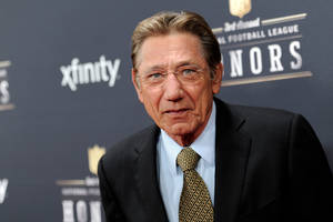 Photo - Former NFL player Joe Namath arrives at the third annual NFL Honors at Radio City Music Hall on Saturday, Feb. 1, 2014, in New York. (Photo by Evan Agostini/Invision for NFL/AP Images)