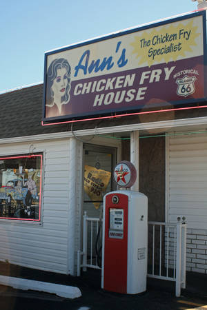 Photo - Ann?s Chicken Fry House in Oklahoma City has served home-style food for decades. PHOTO BY BETTY HOLDEN PROVIDED.  <strong>unknown</strong>