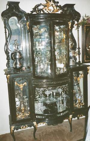 Photo - This Victorian Rococo china cabinet is worth $2,000 to $2,500. Photo provided. <strong></strong>