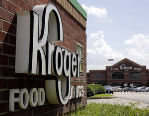 Photo - This Tuesday, June 17, 2014 photo shows a Kroger store in Houston. Kroger reports quarterly financial results on Thursday, June 19, 2014. (AP Photo/David J. Phillip)
