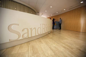 photo - The inside of the SandRidge Energy's headquarters is shown in Oklahoma City. Oklahoman Archives Photo