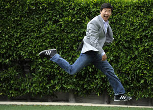 "Photo - In this May 16, 2011 photo, actor, comedian and physician Ken Jeong, MD, poses for a portrait in Beverly Hills, Calif. Jeong stars in the upcoming ""The Hangover Part II."" (AP Photo/Chris Pizzello)"