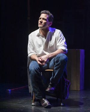 "Photo - This theater image released by Blake Zidell & Associates shows James DeVita in his one man show, ""In Acting Shakespeare,"" performing off-Broadway at The Pearl Theatre in New York. (AP Photo/Blake Zidell & Associates, Jacob J. Goldberg)"
