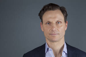 """Photo - This Jan. 30, 2013 photo shows actor Tony Goldwyn from the ABC television series """"Scandal"""" in New York. Goldwyn portrays President Fitzgerald Grant, who is having an affair with his former communications director, Olivia Pope, portrayed by Kerry Washington. (Photo by Amy Sussman/Invision/AP)"""