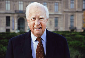 Photo - Pulitzer Prize-winning historian David McCullough spoke Monday at the University of Oklahoma as a part of a lecture series on the Great Depression and World War II. Photo provided