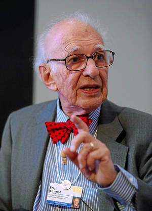 "Photo - Eric Kandel, a professor at Columbia University, explains the physiological basis of memory during the session ""In Search of Memory"" in January 2013 at the Annual Meeting 2013 of the World Economic Forum in Davos, Switzerland.  PHOTO PROVIDED <strong></strong>"