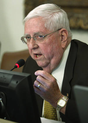 photo - Oklahoma state Rep. David Dank, R-Oklahoma City, on Friday, July 15, 2011. AP Photo/Sue Ogrocki