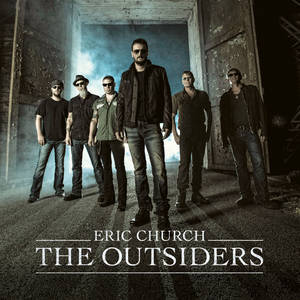 "Photo - This CD cover image released by Universal Nashville shows ""The Outsiders,"" by Eric Church. (AP Photo/Universal Nashville)"