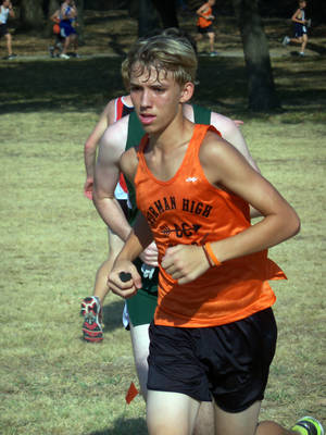 Photo - Norman cross country runner Patrick Ahearn was critically injured in a jet ski accident on Sunday in Destin, Fla. Photo provided