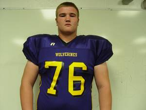 Photo - HIGH SCHOOL FOOTBALL: Vian's Rob Boyd