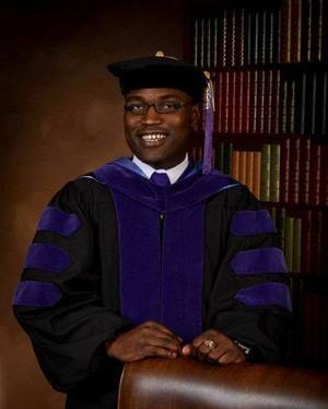Photo - Damond Isiaka is graduating from law school and business school this month. PHOTO PROVIDED