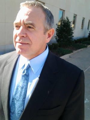 photo - Former Senate President Pro Tem Mike Morgan is to be sentenced Jan. 8 in federal court in Oklahoma City.