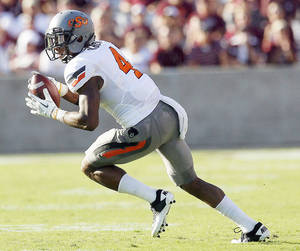 photo - If OSU were to lose cornerback Justin Gilbert this season, the team could be in trouble.  Photo by  Sarah Phipps, The Oklahoman