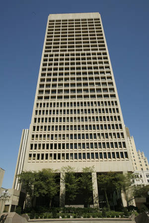Photo - Sandridge Energy Building is at 123 Robert S. Kerr Ave. in Oklahoma City.  PHOTO BY DOUG HOKE,  THE OKLAHOMAN ARCHIVES