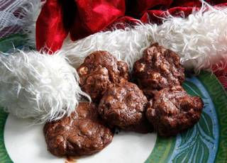 The Food Dude's Quadruple Chocolate Knuckle-Sandwich cookies. Photo by Jim Beckel, The Oklahoman JIM BECKEL