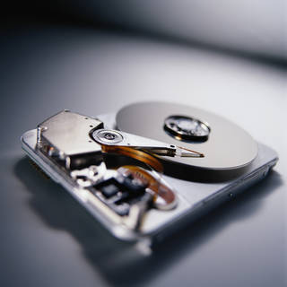 Photo of a hard drive by Thinkstock