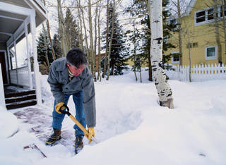 In the U.S., the risk of having a heart attack during the winter months is twice as high as it is during the summertime. Steve Mason