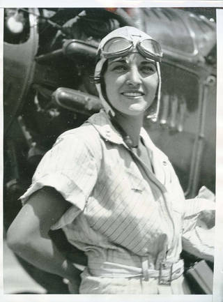 Ruth Elder, aviatrix, circa 1930. - FROM THE OKLAHOMAN ARCHIVES
